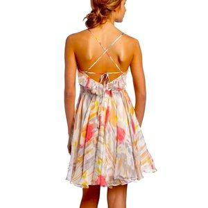 Aryn K Women's Camisole Top Print Dress